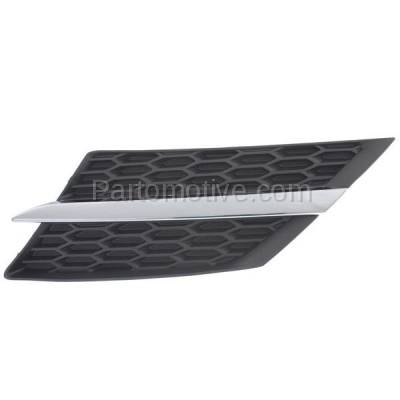 Aftermarket Replacement - GRL-1099LC CAPA NEW 13-15 RAV4 Front Grill Grille Driver Side TO1200360 531060R010