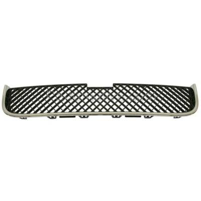 Aftermarket Replacement - GRL-1724C CAPA 05-09 Chevy Uplander Van Front Lower Grill Grille GM1200574 15108613