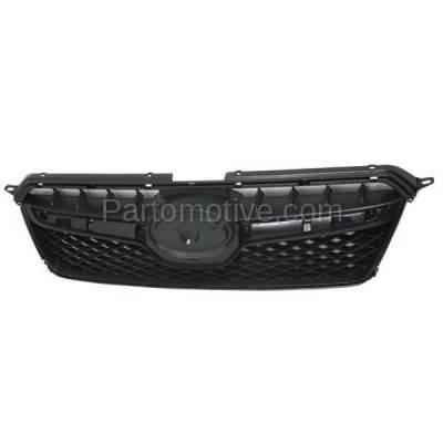 Aftermarket Replacement - GRL-2343C CAPA 13-16 XV Crosstrek Front Grill Grille Black Shell SU1200151 91122FJ020