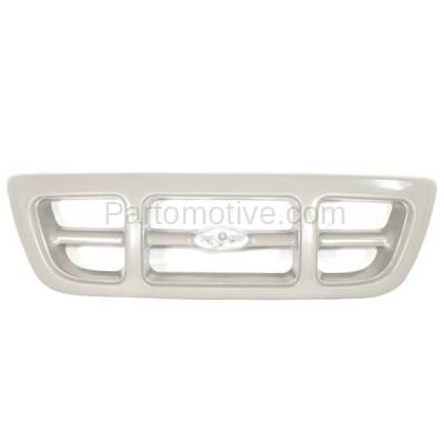 Aftermarket Replacement - GRL-1425C CAPA 98-00 Ranger Pickup Truck Front Grill Grille Gray FO1200343 F87Z8200JA