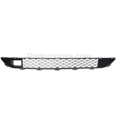 Aftermarket Replacement - GRL-2373C CAPA 06-10 Sienna Front Lower Bumper Grill Grille Black TO1036110 53112AE020