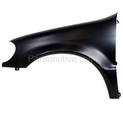 Aftermarket Replacement - FDR-1505L 02-05 ML-Class 163 Chassis Front Fender Quarter Panel Left Driver Side MB1240128