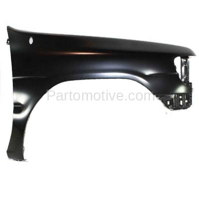 Aftermarket Replacement - FDR-1560R Front Fender Quarter Panel Right Side For 96-99 Pathfinder NI1241161 F31000W030