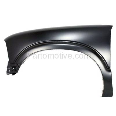 Aftermarket Replacement - FDR-1642L Chevy S10 Pickup Truck 4WD Front Fender Quarter Panel Left Driver Side w/o ZR2