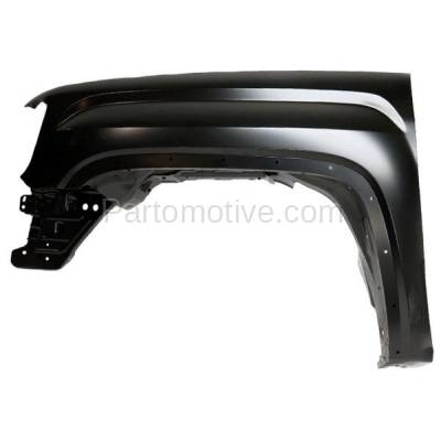 Aftermarket Replacement - FDR-1680L 14-17 Sierra Pickup Truck Front Fender Quarter Panel Left Driver Side GM1240387