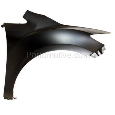 Aftermarket Replacement - FDR-1198R 2007-2012 Mazda CX-7 (2.3 & 2.5 Liter Engine) Front Fender Quarter Panel (without Molding Holes) Primed Right Passenger Side