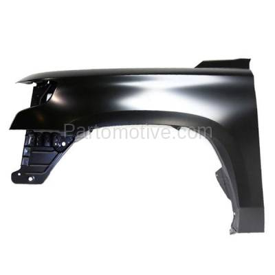 Aftermarket Replacement - FDR-1731L 15-17 Chevy Tahoe Front Fender Quarter Panel Left Driver Side GM1240388 22756423