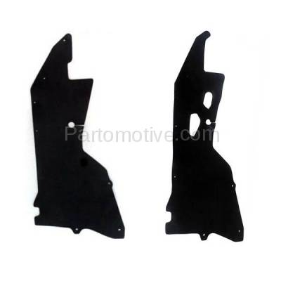 Aftermarket Replacement - ESS-1520L & ESS-1520R Engine Splash Shield Under Cover For 00-04 Frontier Pickup Left & Right SET PAIR