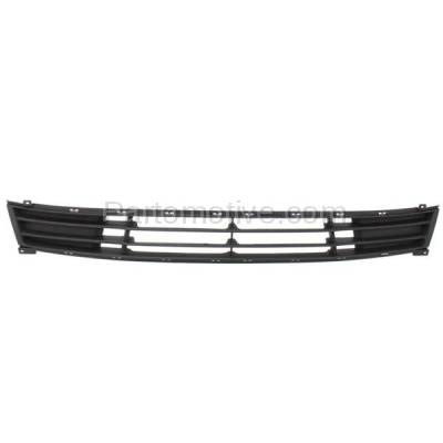 Aftermarket Replacement - GRL-1884C CAPA Lower Bumper Cover Grill Grille HY1036110 For 07-10 Elantra Sedan