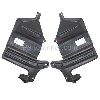 Aftermarket Replacement - ESS-1345L & ESS-1345R Engine Splash Shield Under Cover Guard Fits 95-03 Maxima/I30 Left Right SET PAIR