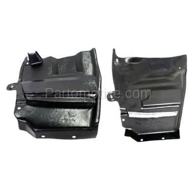 Aftermarket Replacement - ESS-1526L & ESS-1526R Engine Splash Shield Under Cover Undercar For 07-12 Altima Left & Right SET PAIR