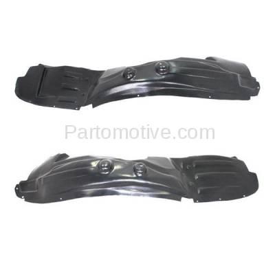Aftermarket Replacement - IFD-1128L & IFD-1128R 2009-2018 Dodge Journey Front Splash Shield Inner Fender Liner Panel Plastic PAIR SET Right Passenger & Left Driver Side