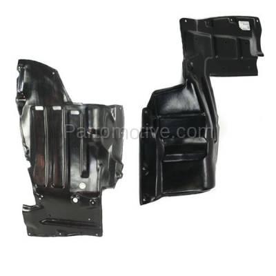Aftermarket Replacement - ESS-1576L & ESS-1576R 00-05 Celica Front Engine Splash Shield Under Cover Guard Left & Right SET PAIR