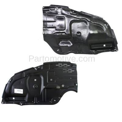 Aftermarket Replacement - ESS-1619L & ESS-1619R 05-10 Avalon Front Engine Splash Shield Under Cover Guard Left & Right SET PAIR