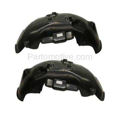 Aftermarket Replacement - IFD-1149L & IFD-1149R 02-09 Ram Truck Front Splash Shield Inner Fender Liner Panel Left Right SET PAIR