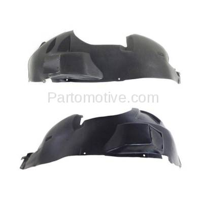 Aftermarket Replacement - IFD-1152L & IFD-1152R 05-07 Grand Cherokee Front Splash Shield Inner Fender Liner Left Right SET PAIR