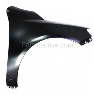 Aftermarket Replacement - FDR-1329R Front Fender Quarter Panel Passenger Side For 10-13 Forte KI1241131 663211M040