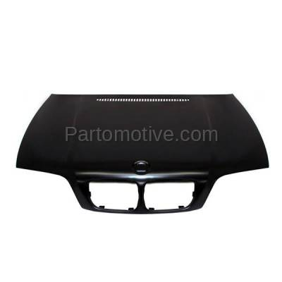 Aftermarket Replacement - HDD-1047 2000-2003 BMW 3-Series 323Ci/323i/323is/325Ci/328Ci/328i/328is/330Ci (Convertible & Coupe 2-Door) E46 Front Hood Panel Assembly Primed Steel