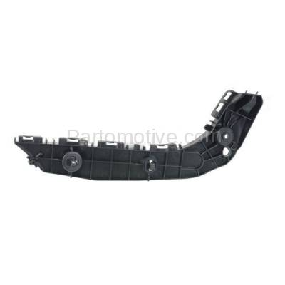 Aftermarket Replacement - BRT-1189FL 2014-2019 Toyota 4Runner Front Bumper Cover Face Bar Retainer Mounting Brace Reinforcement Support Bracket Plastic Left Driver Side