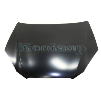 Aftermarket Replacement - HDD-1405 2010-2012 Hyundai Genesis Coupe (2.0 & 3.8 Liter Engine) 2-Door Front Hood Panel Assembly Primed Steel