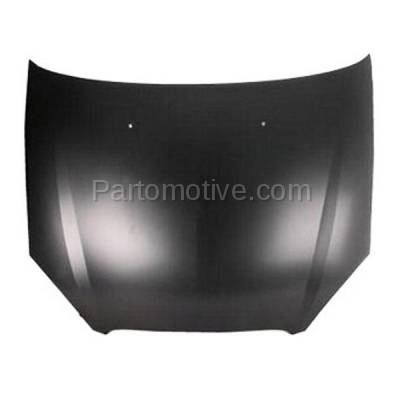 Aftermarket Replacement - HDD-1166 2000-2007 Ford Taurus (LX, SE, SE Comfort, SEL, SES, SVG) Sedan & Wagon 3.0L Front Hood Panel Assembly Primed Steel