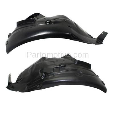 Aftermarket Replacement - IFD-1069L & IFD-1069R 08-13 M3 Front Splash Shield Inner Fender Liner Panel Left & Right Side SET PAIR