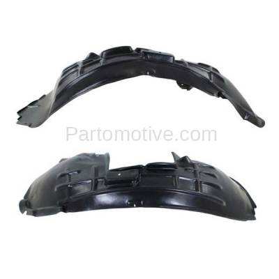 Aftermarket Replacement - IFD-1035L & IFD-1035R 09-12 Q5 Front Splash Shield Inner Fender Liner Panel Left & Right Side SET PAIR