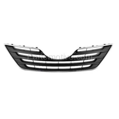 Aftermarket Replacement - GRL-2506C CAPA 07-09 Camry XLE Front Grill Grille Chrome Frame TO1200289 5310106080C0