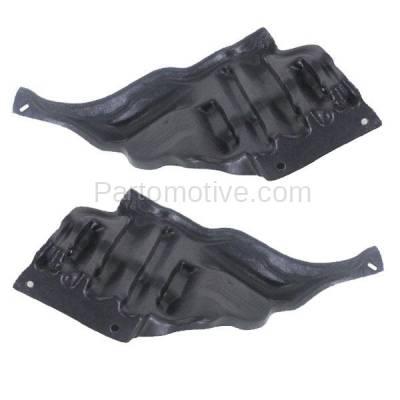 Aftermarket Replacement - ESS-1384L & ESS-1384R 95-00 LS400 Rear Engine Splash Shield Under Cover Guard Left Right Side SET PAIR