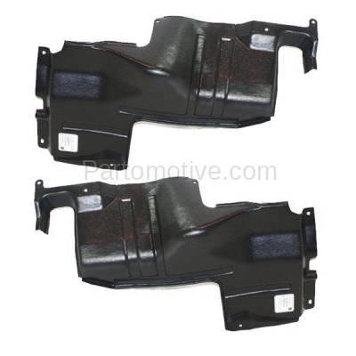 Aftermarket Replacement - ESS-1366L & ESS-1366R Engine Splash Shield Under Cover For 98-01 Sephia & 00-04 Spectra LH+RH SET PAIR