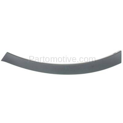 Aftermarket Replacement - BED-1133R 2013-2015 Toyota RAV4 (2.5 Liter Engine) Front Bumper Wheel Molding Extension End Cap Textured Plastic Right Passenger Side