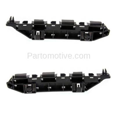 Aftermarket Replacement - BRT-1052FL & BRT-1052FR 2012-12 Civic Hybrid Sedan Front Bumper Cover Face Bar Spacer Retainer Mounting Brace Support Plastic SET PAIR Right Passenger & Left Driver Side