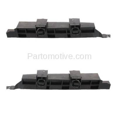 Aftermarket Replacement - BRT-1056FL & BRT-1056FR 03-07 Accord Front Bumper Cover Face Bar Retainer Mounting Brace Support Bracket Plastic SET PAIR Right Passenger & Left Driver Side