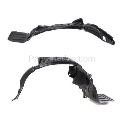 Aftermarket Replacement - IFD-1188L & IFD-1188R 01-02 Sebring Coupe Front Splash Shield Inner Fender Liner Left & Right PAIR SET