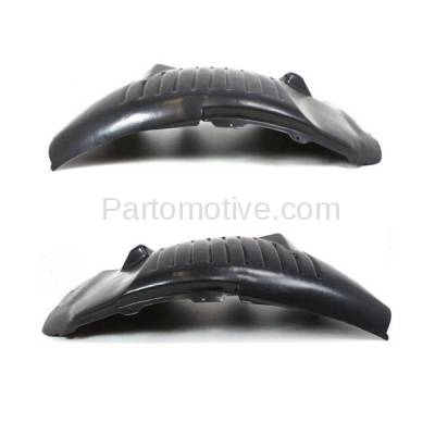 Aftermarket Replacement - IFD-1132L & IFD-1132R 03-10 Viper Front Splash Shield Inner Fender Liner Panel Left & Right SET PAIR