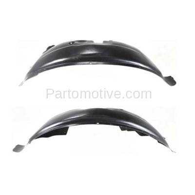 Aftermarket Replacement - IFD-1137L & IFD-1137R 07-11 Nitro Front Splash Shield Inner Fender Liner Panel Left & Right SET PAIR