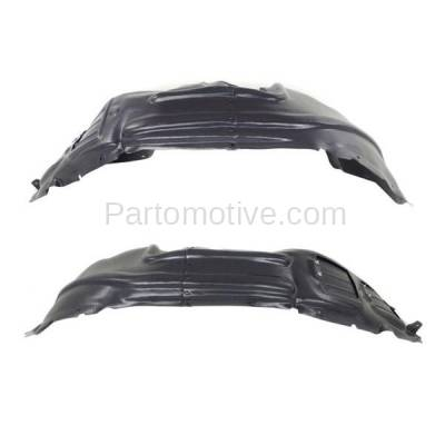 Aftermarket Replacement - IFD-1116L & IFD-1116R 14-16 Cherokee Front Splash Shield Inner Fender Liner Panel Left Right SET PAIR