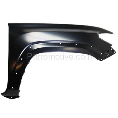 Aftermarket Replacement - FDR-1740R 16-17 Tacoma Truck Front Fender Quarter Panel Right Side RH TO1241262 5381104120
