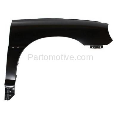 Aftermarket Replacement - FDR-1617R Front Fender Quarter Panel Passenger Side RH Fits 01-02 Rio KI1241103 0K32B52111