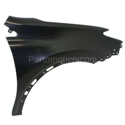 Aftermarket Replacement - FDR-1607R 13 14 15 RAV-4 Japan Built Front Fender Quarter Panel Passenger Side TO1241245