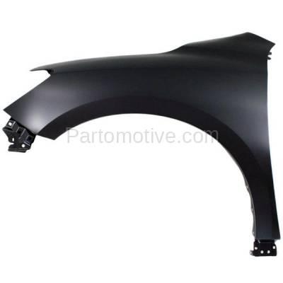 Aftermarket Replacement - FDR-1558L Front Fender Quarter Panel Driver Side For 13-15 Pathfinder NI1240208 631013KA0B