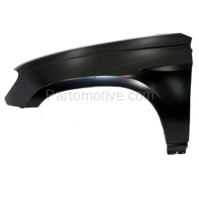 Aftermarket Replacement - FDR-1551L 07-08 Pacifica Front Fender Quarter Panel Left Driver Side CH1240271 68003529AA