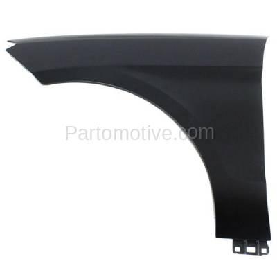 Aftermarket Replacement - FDR-1450L 12-15 ML-Class Front Fender Quarter Panel Left Driver Side MB1240138 1668802500