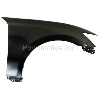 Aftermarket Replacement - FDR-1376R 2013-2020 Lexus GS200t/GS300/GS350/GS450h (Models without F-Sport Package) Front Fender without (Signal Light Hole) Right Passenger Side