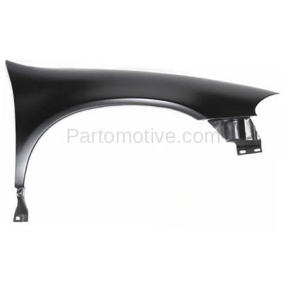 Aftermarket Replacement - FDR-1400R 1998-2004 Chrysler & Dodge Intrepid (2.7 & 3.2 & 3.5 Liter V6) Front Fender Quarter Panel Primed Steel Right Passenger Side
