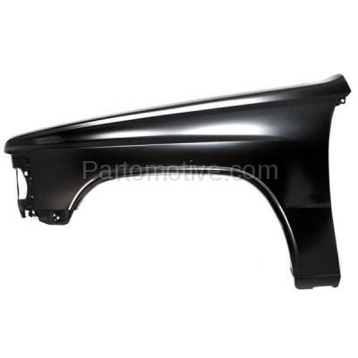 Aftermarket Replacement - FDR-1769L 84-88 Toyota Pickup Truck 2WD Front Fender Quarter Panel Driver Side TO1240123