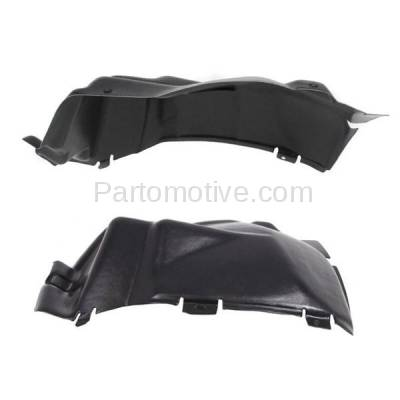 Aftermarket Replacement - IFD-1133L & IFD-1133R 03-10 Viper Front Splash Shield Inner Fender Liner Panel Left & Right SET PAIR
