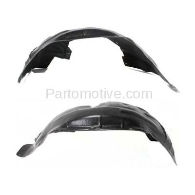 Aftermarket Replacement - IFD-1120L & IFD-1120R 08-12 Liberty Front Splash Shield Inner Fender Liner Panel Left & Right SET PAIR