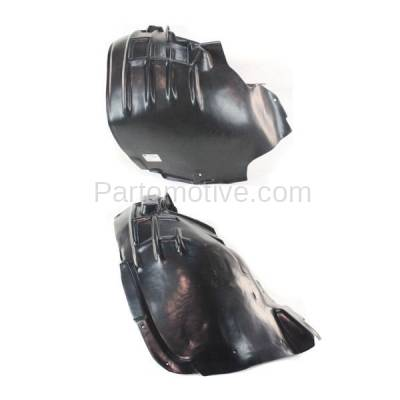 Aftermarket Replacement - IFD-1044L & IFD-1044R 09-12 Q5 Front Splash Shield Inner Fender Liner Panel Left & Right Side SET PAIR