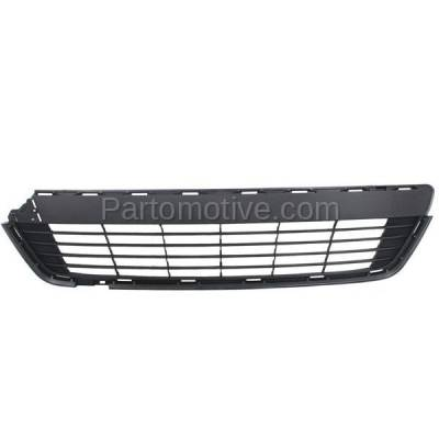 Aftermarket Replacement - GRL-2389C CAPA 12 13 14 Yaris Hatchback Front Bumper Grill Grille TO1036127 5311252260
